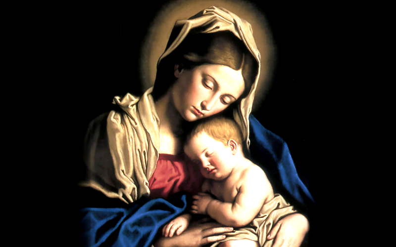 Maria e Jesus