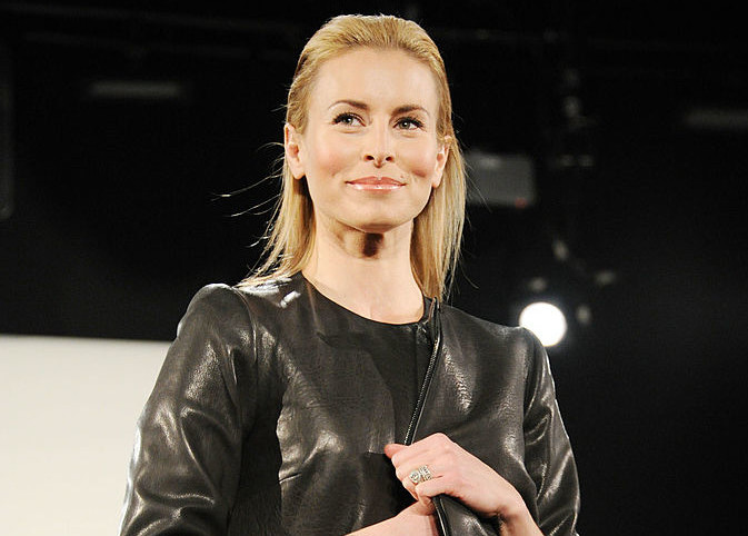 NEW YORK, NY - FEBRUARY 16:  Model Niki Taylor walks the runway during the Vittadini Fall 2011 presentation during Mercedes-Benz Fashion Week at The Box at Lincoln Center on February 16, 2011 in New York City.  (Photo by Mike Coppola/Getty Images For IMG)