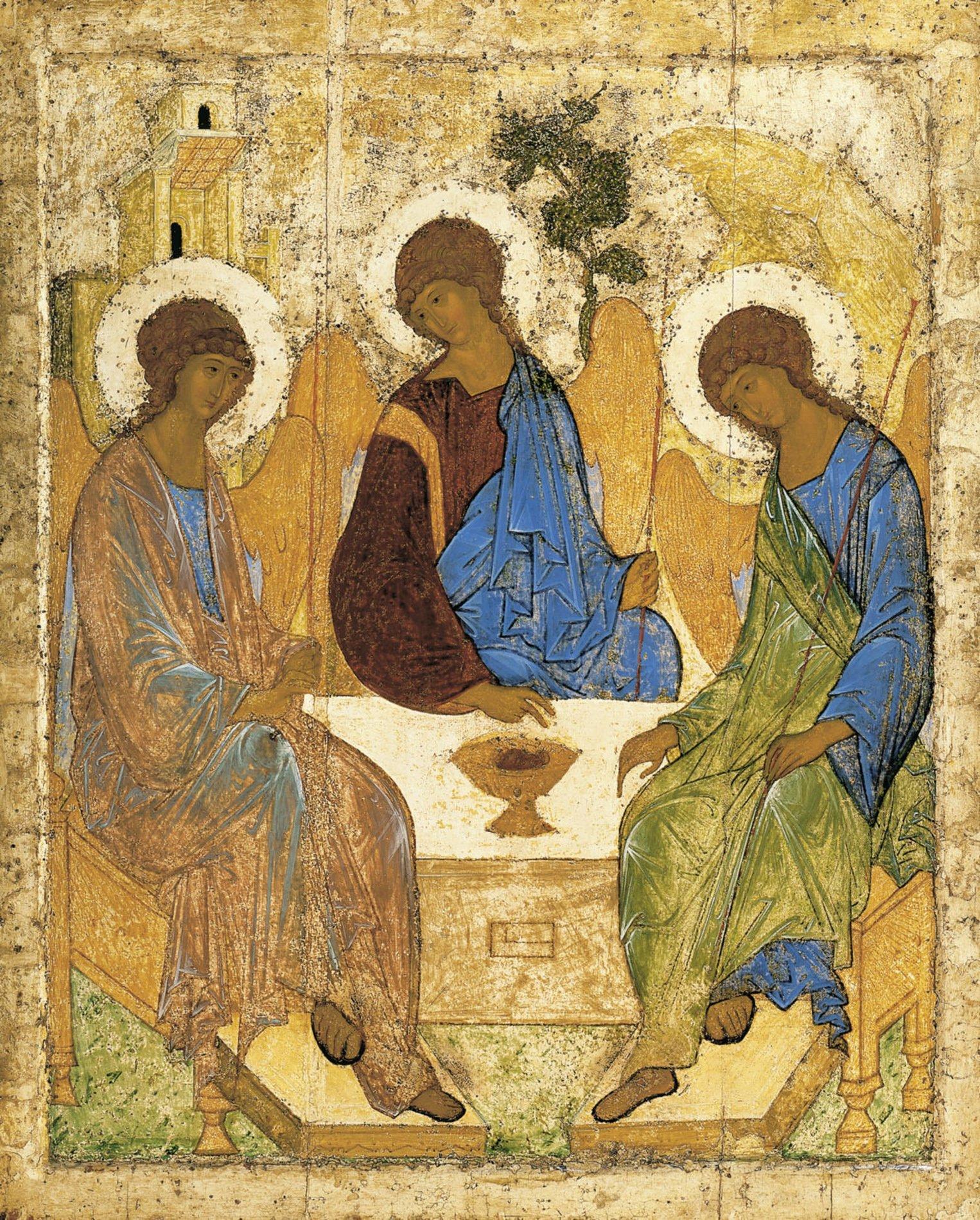 Trindade ícone de Rublev
