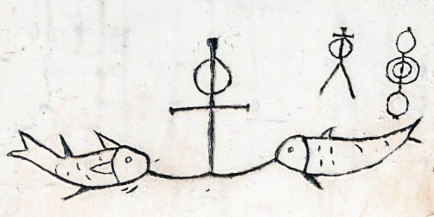 FISH,ANCHOR,SYMBOL