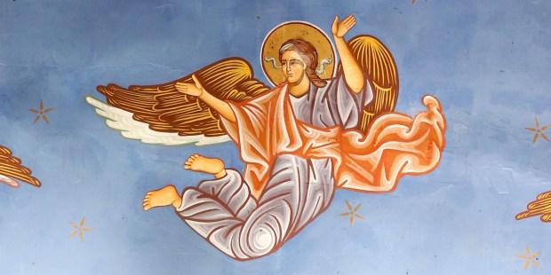 Os anjos conseguem se mover rapidamente?