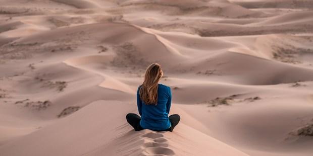 Os 4 elementos do deserto como símbolo espiritual