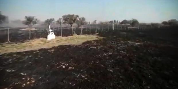 incêndio capela Argentina